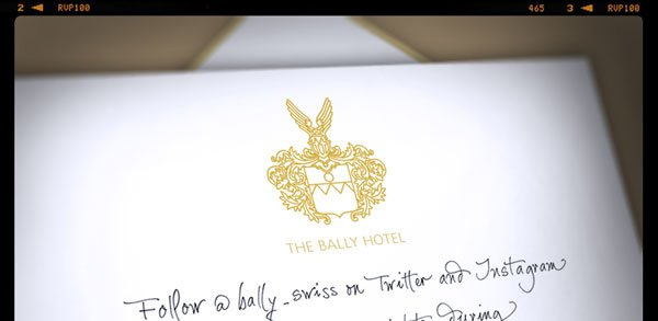 Follow @bally_swiss on Twitter and Instagram to get all the insights during