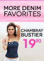 Chambray Bustier