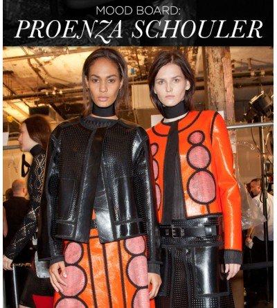 Mood Board Proenza Schouler S/S 13