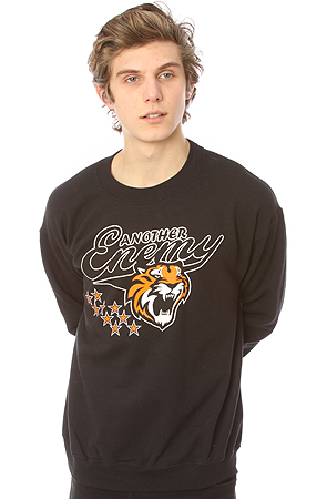 Another Enemy - The Mascot Logo Crewneck in Black