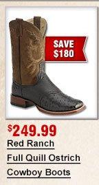 RR FQ Cowboy Boots