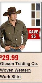 Gibson Woven Shirt