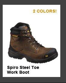 Spiro Steel Toe Work Boot
