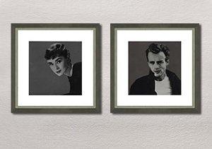 Lights, Camera, Action: Framed Hollywood Prints