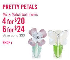 Wallflowers Plugs & Bulbs - 4 for $20