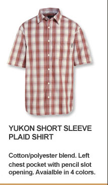 Yukon Short Sleeve Plaid Shirt
