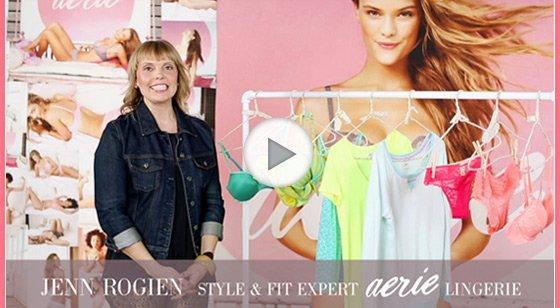 Jenn Rogien | Style & Fit Expert | aerie Lingerie