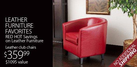 Leather Furniture Favorites