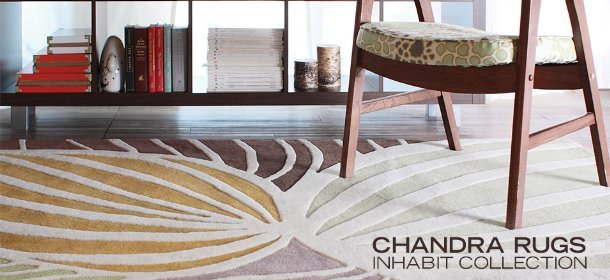 CHANDRA RUGS: INHABIT COLLECTION, Event Ends February 27, 9:00 AM PT >
