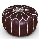 Chocolate Moroccan Pouf