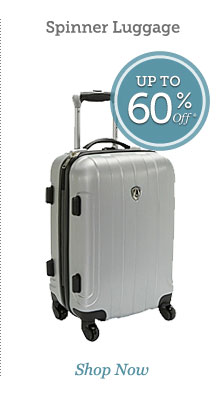 Spinner Luggage | Shop Now