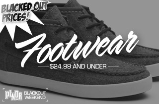 Blacked Out Prices: Footwear
