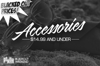 Blacked Out Prices: Accessories