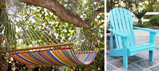 Outdoor Furniture:For the Colorful Home
