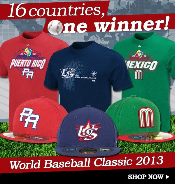 Shop World Baseball Classic 2013 Collection
