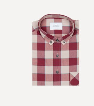 Christopher Shirt in Berry