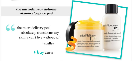 the microdelivery in-home vitamin c/peptide peel - buy now
