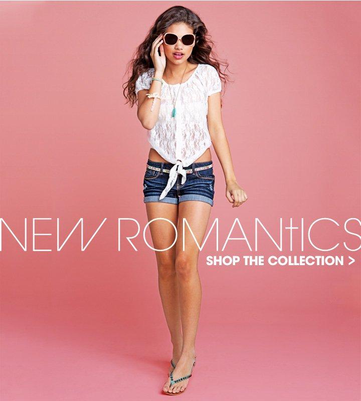 Shop New Romantics