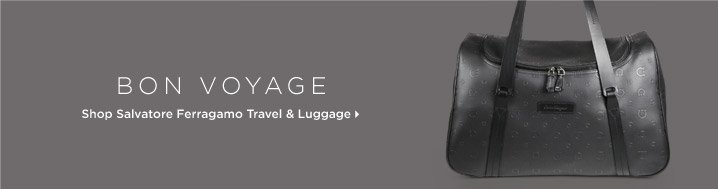 Shop Salvatore Ferragamo Travel & Luggage