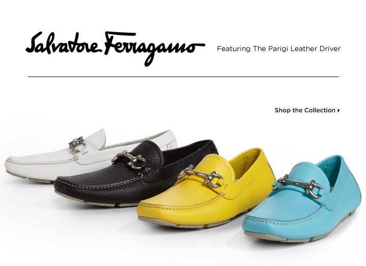 Shop the Salvatore Ferragamo Collection
