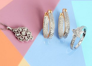 Spring Sparkles: Diamond Jewelry Under $599