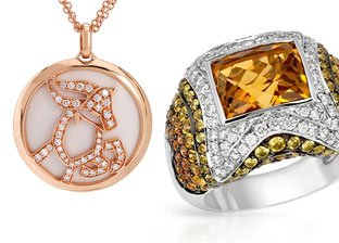 Designer Jewelry by Feludei, Cartier, Rosato & more