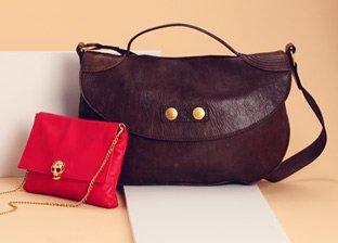 Designer Handbags: Alexander McQueen, Jimmy Choo, Judith Leiber & more
