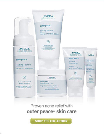 outer peace skin care. shop now.