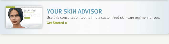your skin advisor. get started