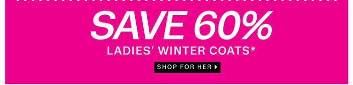 Save 70% on Ladies Coats