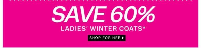 Save 70% on Ladies Coats