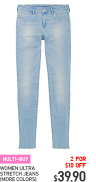 MULTI-BUY - WOMEN ULTRA STRETCH JEANS (MORE COLORS)