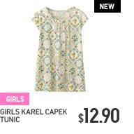 GIRLS KAREL CAPEK TUNIC