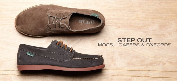 STEP OUT: MOCS, LOAFERS & OXFORDS, Event Ends February 28, 9:00 AM PT >
