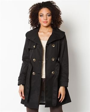 Esprit Double Breasted Trench Coat