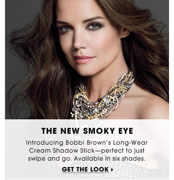 The New Smokey Eye. Introducing Bobbi Brown's Long-Wear Cream Shadow Stick. Perfect to just swipe and go. Available in 8 shades. Get the look
