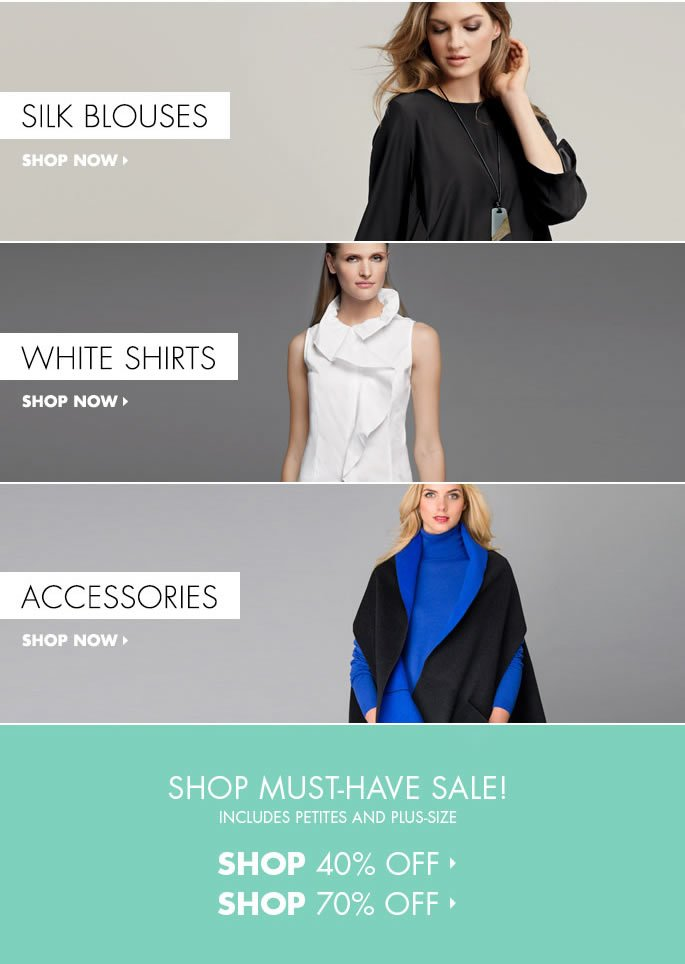 Must-Have Sale: Up to 70% Off!