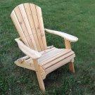 Cedar Folding Adirondack Chair