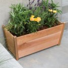 Rectangle Cedar Planter Box