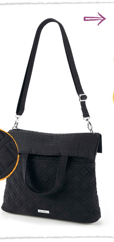 Convertable Crossbody in Classic Black
