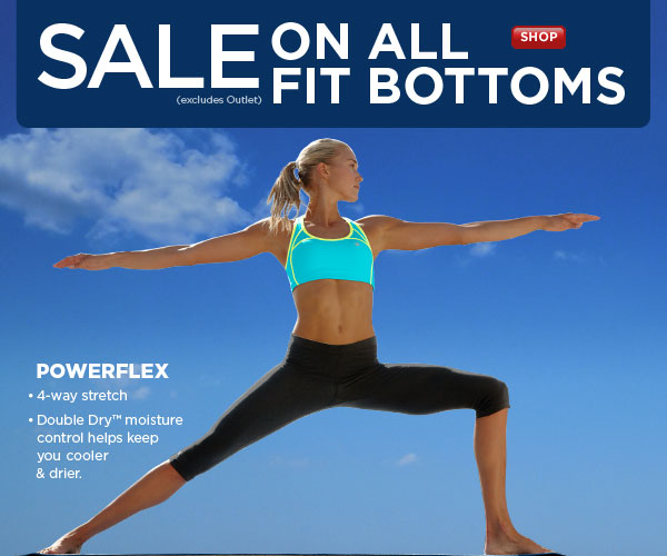 SHOP Fitness Bottoms SALE