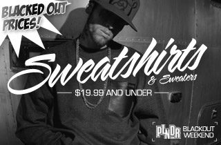 Blacked Out Prices: Sweatshirts & Sweaters