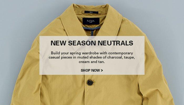 New Season Neutrals - Shop Now
