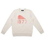 Paul Smith Tops - White Marl 1977 Shafter California Print Sweatshirt