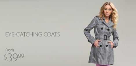 Eye-catching coats