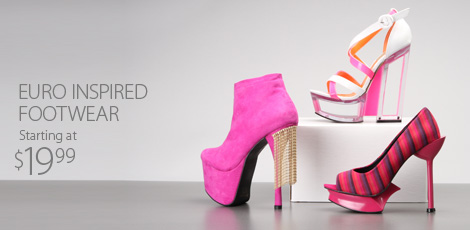 Bold and Bright Footwear