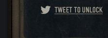 Tweet to unlock