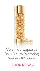 Ceramide Capsules Daily Youth Restoring Serum - 90 Piece. SHOP NOW.
