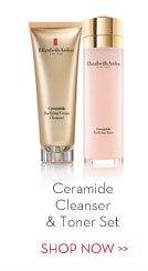 Ceramide Cleanser & Toner Set. SHOP NOW.