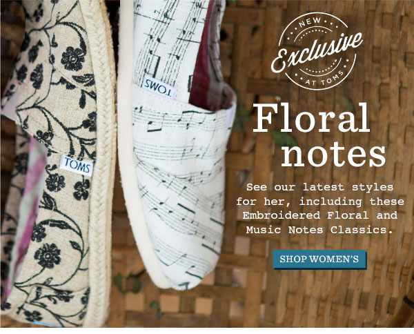 Floral Notes - Shop Women's